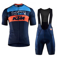 cycling оптовых-2018 новый велоспорт Джерси наборы для мужчин pro team KTM лето ropa ciclismo горный велосипед велоспорт одежда гоночный велосипед одежда M0103
