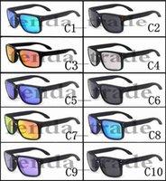 polarisierte sonnenbrille für männer verkauf großhandel-Förderung HEISSER VERKAUF Marke polarisierte Sonnenbrille Männer Frauen Sport Radfahren Brille Brillen 10 Farben Optionen MOQ = 10
