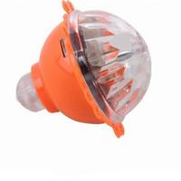 geschwindigkeit drehen großhandel-Lichtblitz Mit Voller Geschwindigkeit Reibung Lumineszierendes Gyroskop Kinder Neuheit Spitzenträgheit Drehen Gyro Spielzeug 1 25sk W