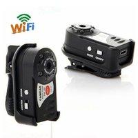 ip-kameras wireless klein großhandel-Wireless IP Cam Mini Q7 Kamera 480P Wifi DV DVR Nagelneu Mini Video Camcorder Recorder Infrarot Nachtsicht Kleine Kamera