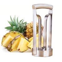 Wholesale kitchen tools online - Stainless Steel Fruit Pineapple Slicer Peeler Pineapple Cutter Kitchen Fruit Tool