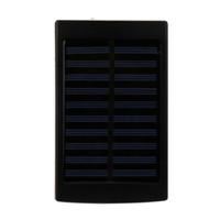 batería solar externa del cargador de batería al por mayor-20000mAh LED Dual USB Cargador de batería solar portátil Banco de energía para el teléfono celular de carga portátil para el teléfono poverbank Externo
