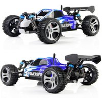 Wholesale Wltoys Buggy - Wltoys A959 2 .4g Radio Remote Control Rc Car Kid Toy Model Scale 1 :18 New Shockproof Rubber Wheels Buggy Highspeed Off -Road