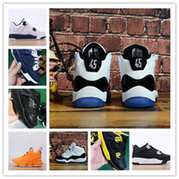 low priced 6f9e8 7fba3 Scarpe per bambini 15 4 11 XI bambini Scarpe da pallacanestro All ingrosso  New baby boy toddler Sneakers Sport Running girl trainers 28-35 in vendita