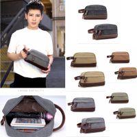 898b584d244a Wholesale boys toiletry bags for sale - Retro Patchwork Men Toiletry bag  Kits PU Canvas cloth