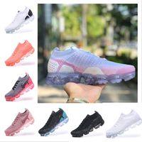 ingrosso scarpe sportive escursionistiche unisex-Vapormax Nike air max 2018 hot Designer 2.0 Scarpe da corsa Scarpe da ginnastica da donna e da uomo di alta qualità bianche Scarpe sportive da trekking
