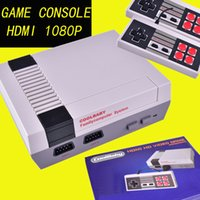Wholesale New Wi - New Arrival Mini TV Game Console can store 600 games Video Handheld for NES games consoles with retail boxs OTH667