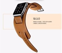 Wholesale YIFALIAN Series Genuine Leather watchbands Cuff Bracelet Leather Wrist Band strap mm mm