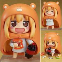 ingrosso giapponese nendoroide-10cm Anime giapponese Himouto Figura U M R Carino Nendoroid Doma Umaru Action PVC modello Toy Model