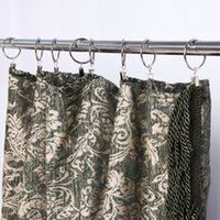 ingrosso parti del gancio-Tenda Solid Clip Accessorio in metallo Hook No Fade Rustless Window Curtains Parts Anello Roma Factory Direct 0 45dg9 V