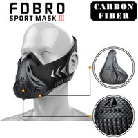 Wholesale condition yellow - FDBRO Masks Black Sports Style High Altitude Conditioning Mask Sport Mask 2.0 Mask With Box FREE SHIPPING