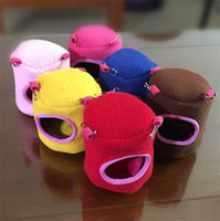 Wholesale house keeping - Stump Type Small Pet Nest Soft Keep Warm Squirrel Hamster House Multi Color 4 8wc2 C R