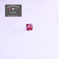 jóias tailândia venda por atacado-100% Natural Spinel gemstone 0.37ct 3.9x3.9x2.8mm para jóias envia diretamente para a sua mão de GSG Tailândia fábrica de corte