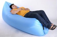Wholesale cushion sets - Garden Sets new Lounge Sleep Bag Lazy Inflatable Beanbag Sofa Chair, Living Room Bean Bag Cushion, Outdoor Self Inflated Beanbag Furniture