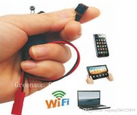 Wholesale wireless spy hidden cameras wifi - Hot 1920*1080P Mini Camera SPY Hidden Camera Video Wifi P2P DIY Module Mini DV DVR Wireless IP Spy Surveillance Camera S06