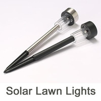 Wholesale solar stainless steel pathway lights resale online - Solar Lights Outdoor Solar Garden Lights Stainless Steel LED Solar Pathway Lights Outdoor Landscape Lighting for Lawn Patio Yard Wal