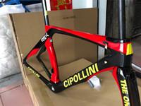 radrennen rennrahmen großhandel-Cipollini RB1K DAS EINE T1000 3K Racing Vollcarbon-Rennrad-Rahmen Volles Carbono-Faser-Fahrradrahmen Volles Fahrradrahmen