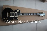 Wholesale Pick Ups For Guitar - Free shipping wholesale High-quality Free shipping New custom black guitar ebony fingerboard 3 pick-up electric guitar