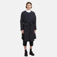 minimalistischer langer mantel großhandel-Die neue Herren Long Tunika Jacke von 2018 mit Rundhalsausschnitt und minimalistischem Design aus dunklem und lässigem Trenchcoat. S-6XL !!