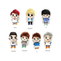 All'ingrosso-KPOP GOT7 Dream Knight Personaggio Peluche Peluche Bambola di pezza MARK BAMBAM YOUNGJAE Collezione di Fan No Plastic Box Ver. 17061914