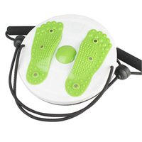 Wholesale twister plate fitness - Twister Plate Twist Board Magnet Waist Wriggled Wriggling Plate Twisting Disk With Arm Exercise Fitness Equipment Hot Sale 15gt Z