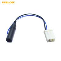 adaptateur d'antenne radio de voiture achat en gros de-Adaptateur d'antenne de radio de voiture FEELDO pour câblage de faisceau de câbles de connecteur TOYOTA Installation # 4795