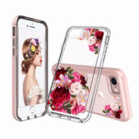 Wholesale colorful mobile - For Iphone X 8 Plus Newest 2 IN 1 Colorful Mobile Phone Case Back Cover For iPhone 6 7 8 Plus X