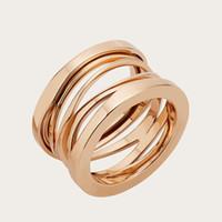mens 316l ringe großhandel-Hohe Qualität Herren 316L Titan Stahl Ringe 18 Karat Gold Silber Ehering für Frauen Mann Engagement Schmuck