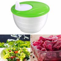 ingrosso mini rondelle-100% marchio di accessori da cucina 4 .5l Mini Kitchen Salad Spinner Strain erbe asciutte lattuga verdura Rondella Drainer R20