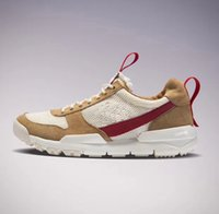 Wholesale Canvas Fabric Yard - Newest Tom Sachs x Craft Mars Yard 2.0 TS Joint Limited Sneaker Original Quality Natural Sport Red Maple Running Shoes