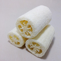 Wholesale luffa shower for sale - Group buy Bath Body Shower Sponge Scrubber Natural Loofah Luffa Loofa Bathing Massage Body Shower Sponge Scrubber Pad
