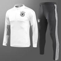 kits expresos al por mayor-18 19 chandal Alemania Traje de entrenamiento Maillot de Foot 2018 2019 Alemania Survetement Fútbol adultos Fútbol Chándal kits de kits expreso