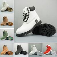 bottes de marque homme achat en gros de-2019 Original Timberland Marque Femmes bottes Hommes Designer Sport Rouge Blanc Hiver Baskets Casual formateurs Hommes Femmes De Luxe ACE boot 36-46