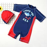 ingrosso costumi da bagno personali-2018 Polpular Characters Boy's Swimsuit Boys Beachwear Bambini Costume da bagno Costume intero Costumi da bagno Costumi da bagno per bambini