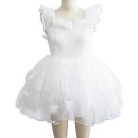 zebra brautkleider großhandel-Professionelle Ballett Tutu Langer Rock Mädchen Kinder Hochzeit Kleid Kleid Ballett Tanz Kleidung Weiß Schwanensee Kostüme Für Frauen