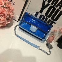 Wholesale yellow jelly bags - AAA quality Luxury 2018 hot sell Brand bags fashion Jelly bag Women bag Messenger Shoulder Bag Multi-Color lady bags Famous designer handbag