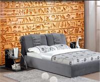 ingrosso murales uccelli-Foto personalizzata sfondi HD uccelli rilievo egizio murales TV sfondo soggiorno camera da letto divano sfondo murale carta da parati