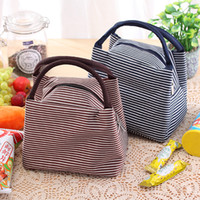 Wholesale Lunch Bag Ice Pack - Fashion Travel Outdoor Lunch Bag Box Cool Thermal Handbag Food Drinks Ice Packs Isothermic Container Warmer Cooler Carry Picnic Tote Bags