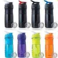 Wholesale water bag fitness resale online - Water Bottles Water Fashion Coffee Fruit Juice Sports Cup Creative Fitness Albumen Powder Milkshake Rocking Most Cheap jy V