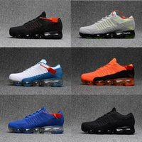 Wholesale Red Light Products - High quality New Running Shoes Airs Cushion 2018 Men Women Vapormax Product Hot Sale Breathable Sports Shoes Sneaker US 7-11 Free shipping