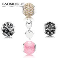 FAHMI 100% 925 sterling silverNWC Charm Gold 14 K White Kristal Hope Sensitivity Charm APPRECIATION HANGING CHARM P COLLECTION BALANCE