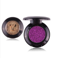Wholesale beauty army online - Hot Sale Beauty Pressed Single Eyeshadow Diamond Rainbow Make Up Cosmetic Pressed Glitters Eye shadow Magnet Palette