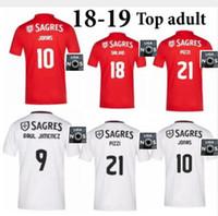 62e66af80ecf 18 19 Top Thai Quality Benfica Soccer Jersey GABRIEL B. JONAS SEFEROVIC  KALAICA ZIVKOVIC SALVIO ELISEU FEJSA PIZZI Football Shirts jersey