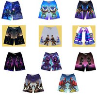 Wholesale fun knee - Fortnite Summer Beach Shorts Fashion Men Pants Casual Fun Game Fortnite 3D Print Hot Short Pants For Children and Adults DDA634