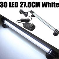 levou aquário luz tira venda por atacado-30 LED Aquarium Fish Tank impermeável submersível Stick Strip Light LEG_301