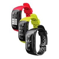 hatırlatma bantları toptan satış-Yeni G03 S908 GPS Akıllı Bant IP68 Su Geçirmez Spor Bileklik Çoklu spor Kalp Hızı Monitörü Çağrı Hatırlatma Akıllı bant