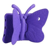 Wholesale hot tablets resale online - Hot EVA Shockproof Case for iPad Mini new Cartoon Butterfly Stand Tablet Cover for iPad Mini Kids Safe Cases