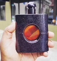 Wholesale nice shops - Famous brand perfume for women 90ml with nice balck bottle good smell high fragrance free shopping