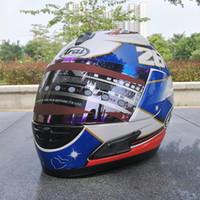 Wholesale Helmet Racing - ARAI RX-7X New LE Helmet Motorcycle Helmet RX-7 EU  CORSAIR-X US IOM TT Full Face Motocoss Racing Helmet Isle of Man re