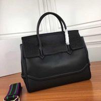 branded handbag toptan satış-Tasarımcı çanta Medusa Varsce marka Palazzo İmparatorluğu ünlü tasarımcı çanta hakiki deri el çantası büyük kapasiteli modeli 7202 çanta çanta